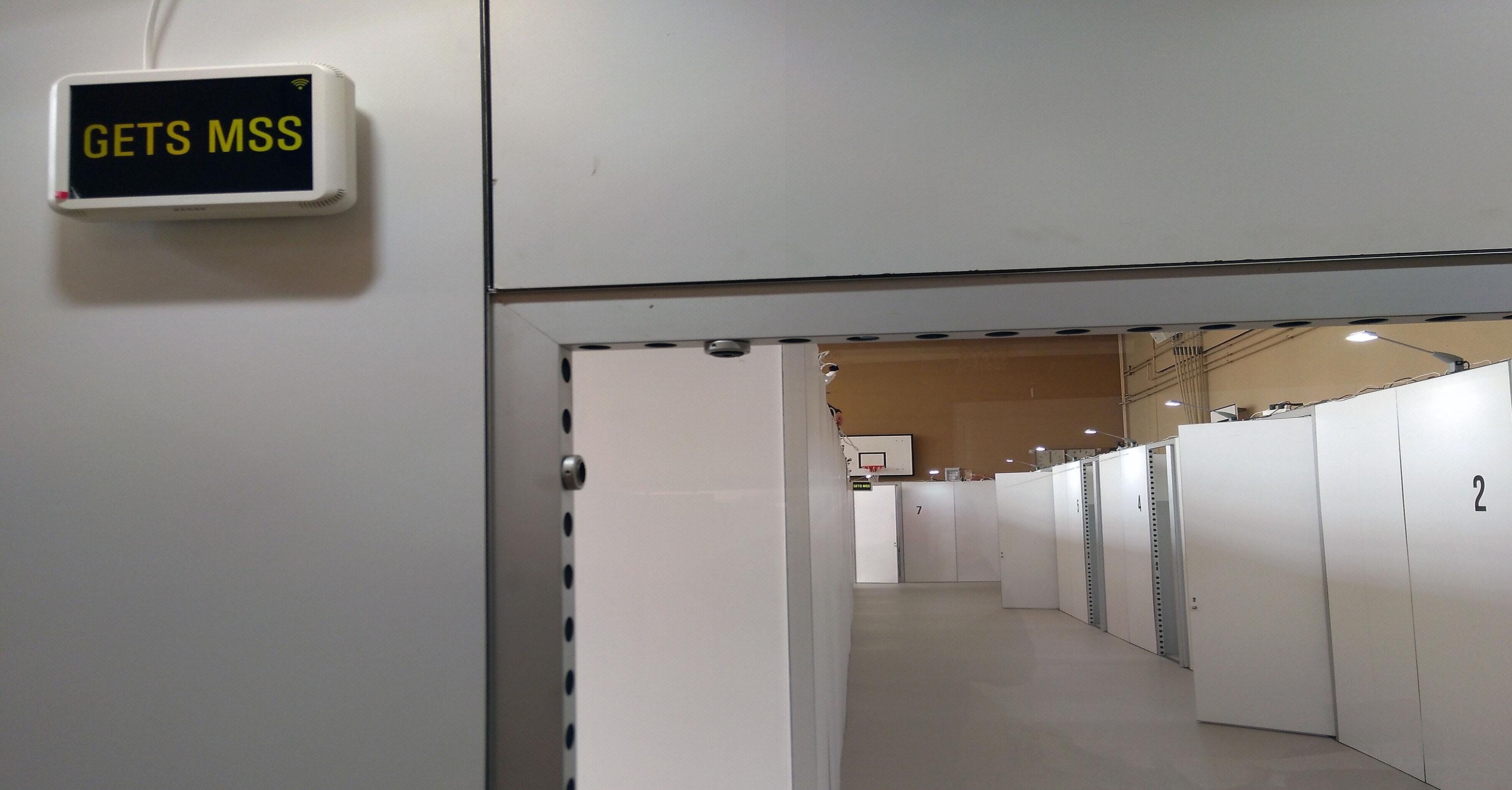 Zurich University Hospital Converts Sports Facilities Into Treatment Unit